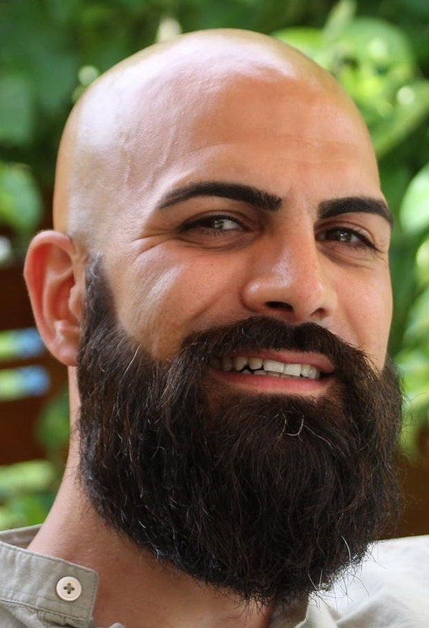 Bald and Bushy Beard Combo for Men