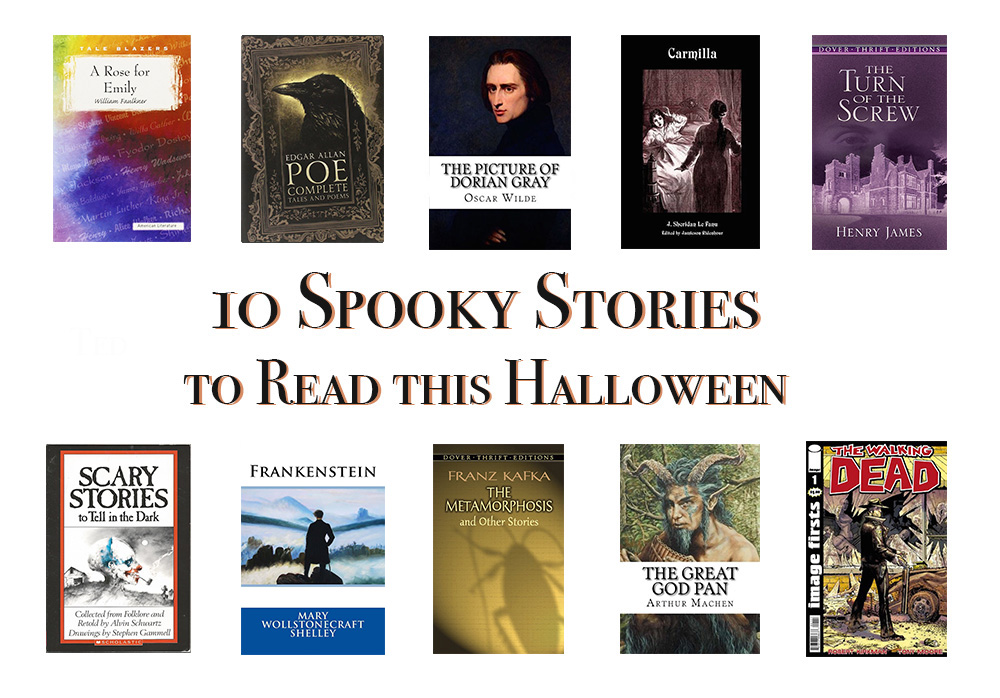 10 Spooky Stories for Halloween