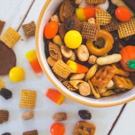 Trick-or-Trail Mix