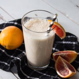 Ginger + Blood Orange Smoothie