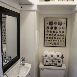 "Home Tour: Our ""Half"" Bathroom"
