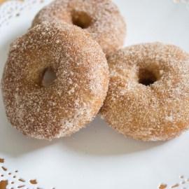 Spiced Chai Doughnuts