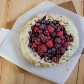 Easy Mixed Berry Tart