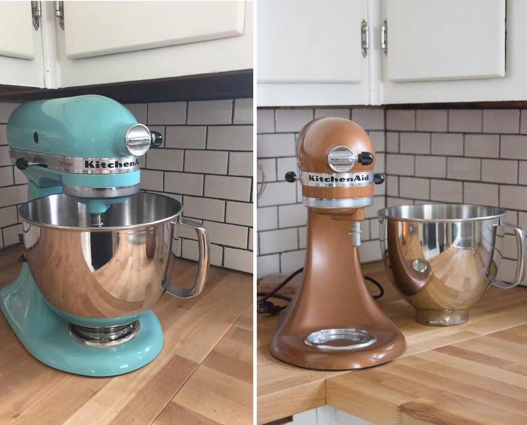 weekend project stand mixer makeover