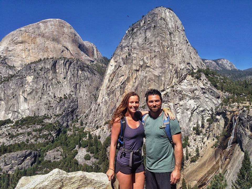 Half Dome Hike. Yosemite, California. Check out more at www.beardandcurly.com.