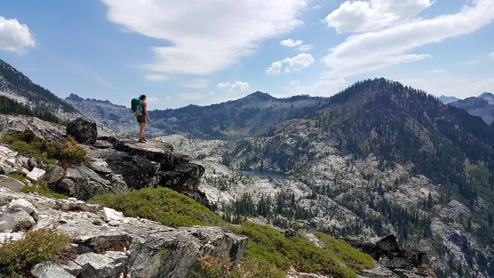 Caribou Lakes Trail, Trinity Alps Wilderness, California