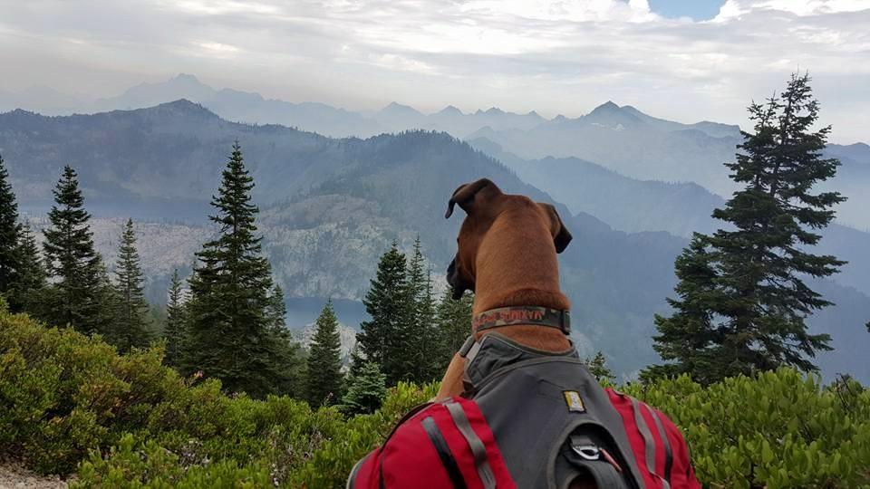 Caribou Mountain, Trinity Alps, Shasta Wilderness, California
