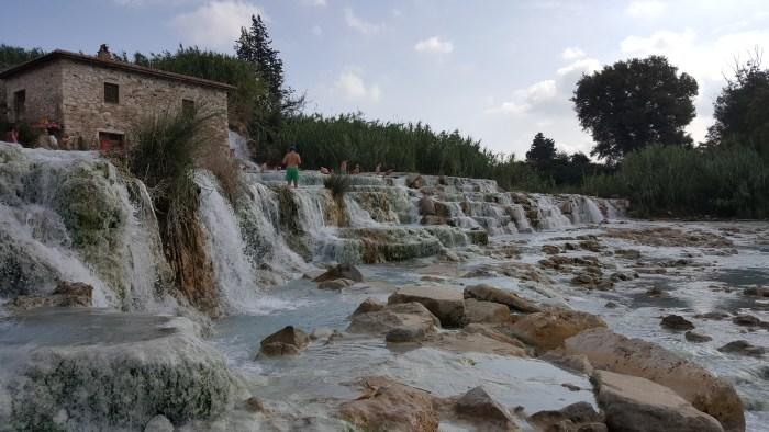 Saturnia Hot Springs, Italy