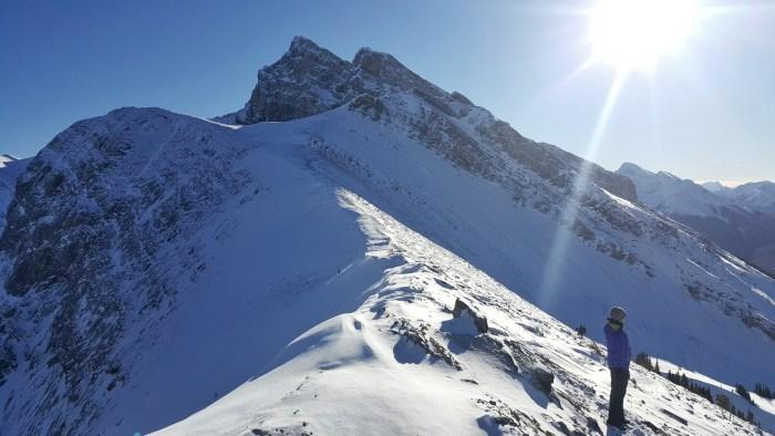 Ha Link Peak Summit Trail, Canmore, Alberta, Banff Canada