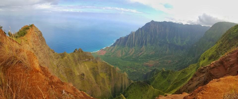 Adventures in Kauai on a Budget, Kalalau Lookout Ridge Trail, Koke'e State Park, Kauai
