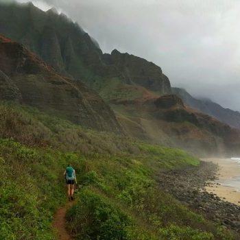 Ultimate Guide for the Kalalau Trail, Kalalau Trail in Napali Coast, Kauaii