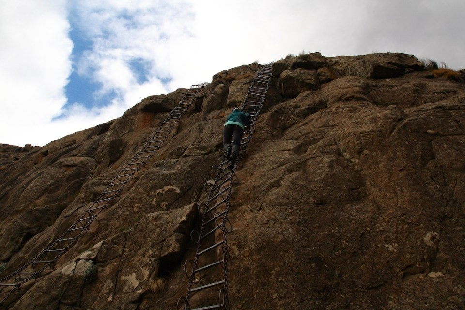 Chain Ladder, Amphitheatre, Monk's Cowl, Drakensberg Mountains, Royal Natal National Park, Golden Gate National Park, Champagne Valley, Hiking, South Africa