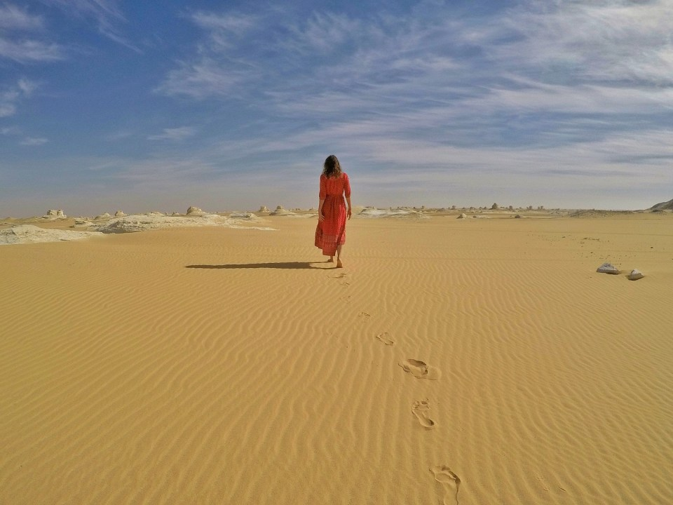White Deset, Egypt. Check out more at www.beardandcurly.com