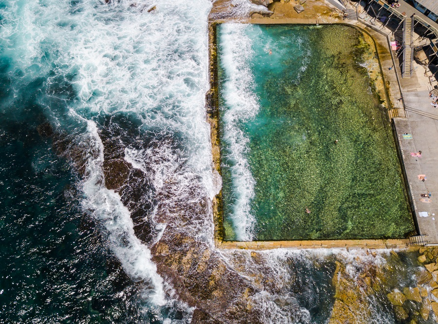 Wylie's Baths, Sydney's Top 10 Rockpools, Best Rockpools in Sydney, Top 10 Natural Ocean Pools in Sydney, Best Ocean Pools Sydney, beardandcurly.com