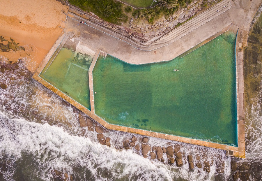 Collaroy Rockpool, Sydney's Top 10 Rockpools, Best Rockpools in Sydney, Top 10 Natural Ocean Pools in Sydney, Best Ocean Pools Sydney, beardandcurly.com