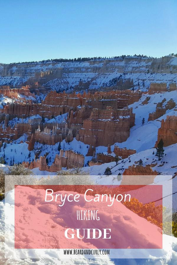 Bryce Canyon Hiking Guide, Utah, National park, Kanab, #utah #hiking #bryce www.beardandcurly.com