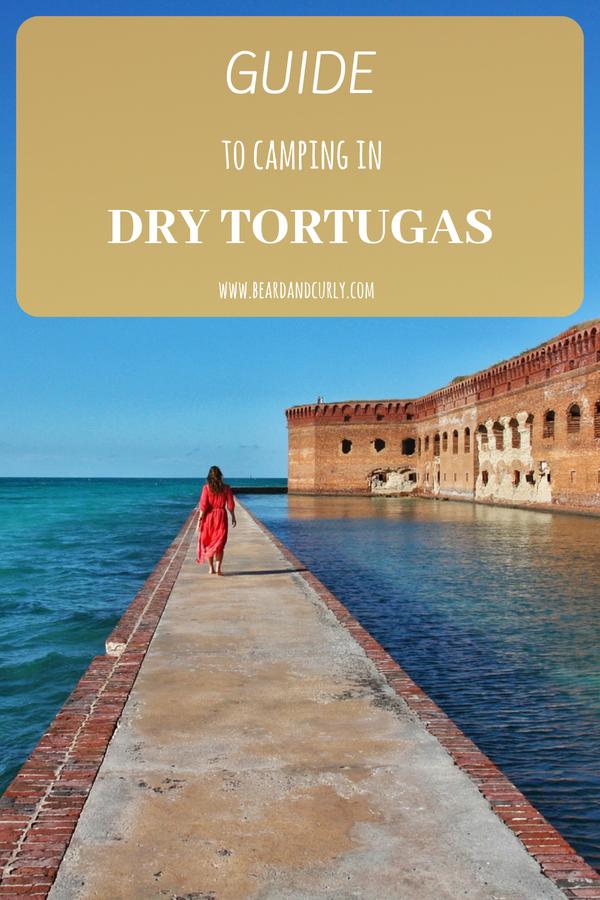 Guide to Camping at Dry Tortugas, National Park, Florida, Key West, Florida Keys, #camping #island #kayak #beach #florida www.beardandcurly.com