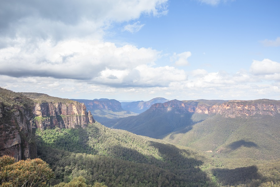 Top Five Overlooks in the Blue Mountains, Top Overlooks Blue Mountains, Top Overlooks Blueys, Lincoln's Rock, Govetts Leap, Echo Point, Three Sisters, New South Wales, NSW, Australia, OZ, Down Under, Blue Mountains, Katoomba, beardandcurly.com