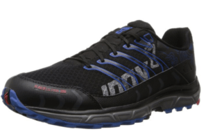 inov-8 race ultra 290 black and blue style trail running shoe