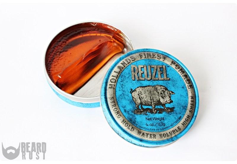 Reuzel Strong Hold High Sheen Pomade (Blue) – recenzja wodnej pomady do włosów