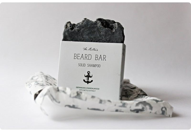 The Brighton Beard Company The Miller's Beard Bar (Solid Shampoo) – recenzja mydła do brody