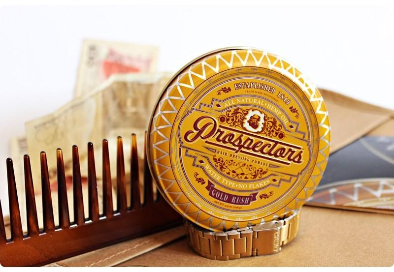 Prospectors Gold Rush – recenzja pomady do włosów