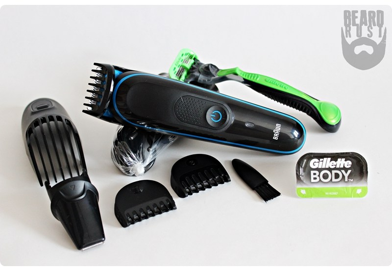 Braun Face & Body Trimming Kit MGK3040 – recenzja