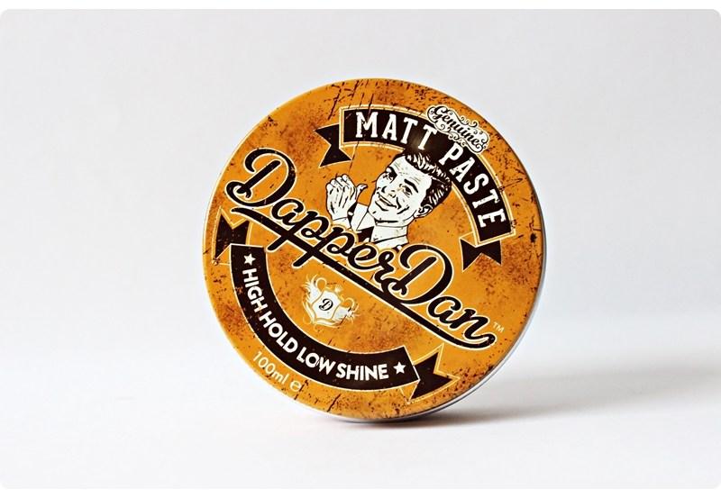 Dapper Dan Matt Paste – recenzja pasty do włosów