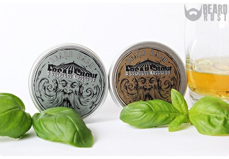 Freak Show Beard Balm (Bay Rum/Basil & Blackberry) – recenzja balsamów do brody