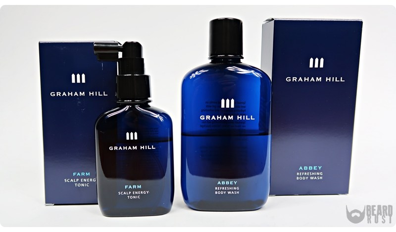 Graham Hill | Abbey Refreshing Body Wash & Farm Scalp Energy Tonic – recenzja