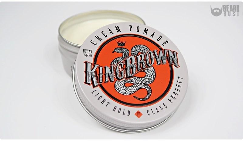 King Brown Cream Pomade – recenzja kremowej pomady do włosów
