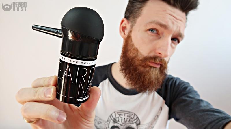 BeardMe – recenzja pudru zagęszczającego brodę