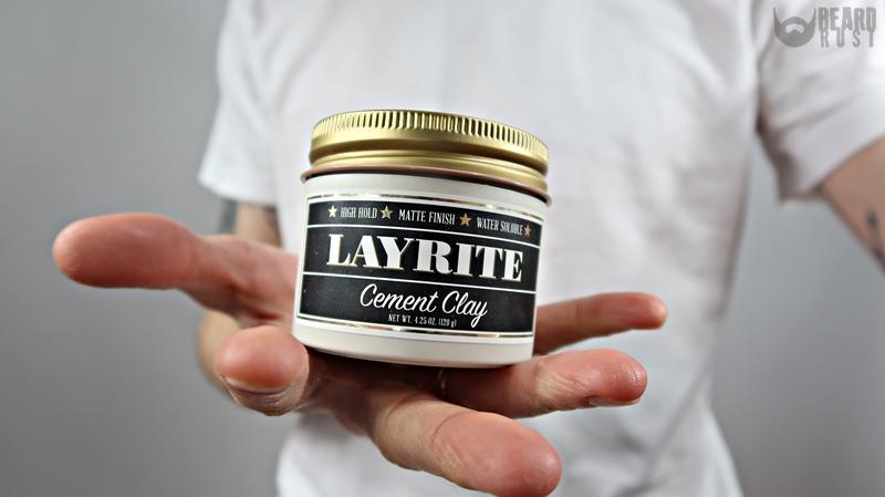 Layrite Cement Clay – recenzja glinki do włosów