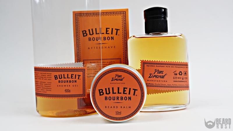 Pan Drwal x Bulleit – recenzja kosmetyków inspirowanych whiskey