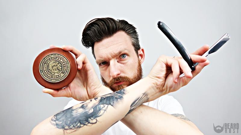 Capt. Fawcett x Scapicchio Shaving Soap – recenzja mydła do golenia