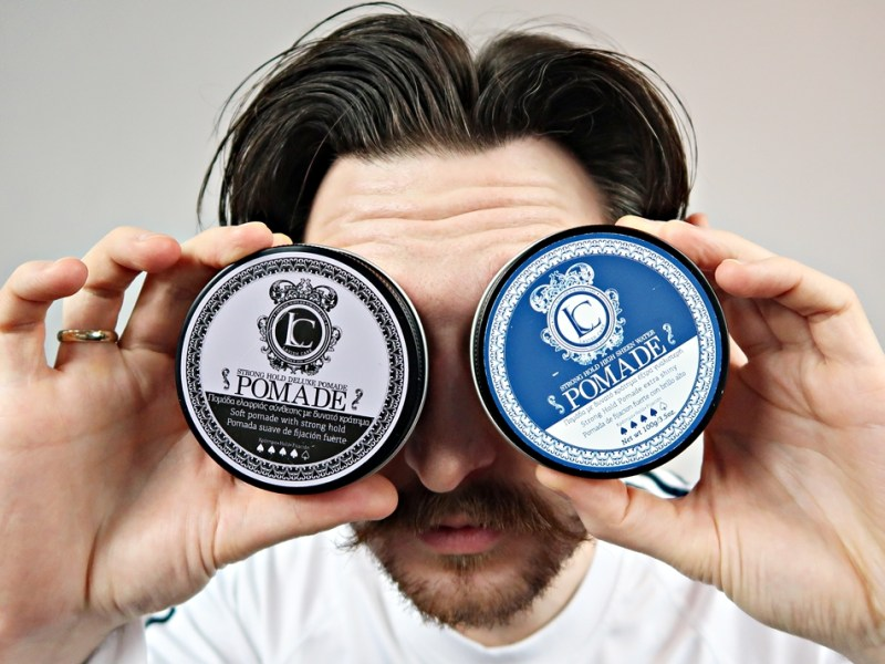 Lavish Care Deluxe Pomade + High Sheen Pomade – recenzja pomad wodnych