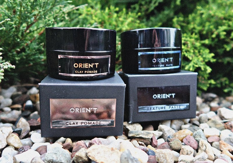 Orien't Clay Pomade + Texture Paste – recenzja