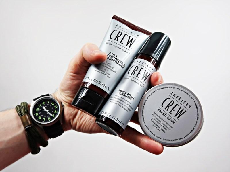 American Crew pianka, balsam i krem – recenzja kosmetyków do brody