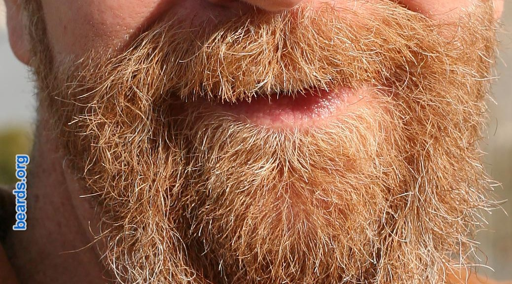 growing a beard: the importance of hanging in there