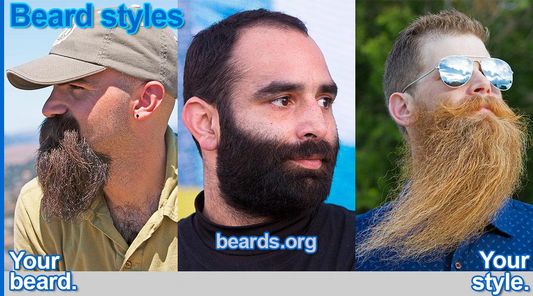 Beard styles: your beard, your style.