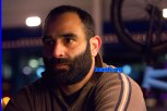bearded at night: Chris