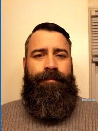 Jarrod's classy full beard.