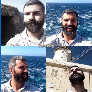 Jimmy: today's beard, 2016/12/20
