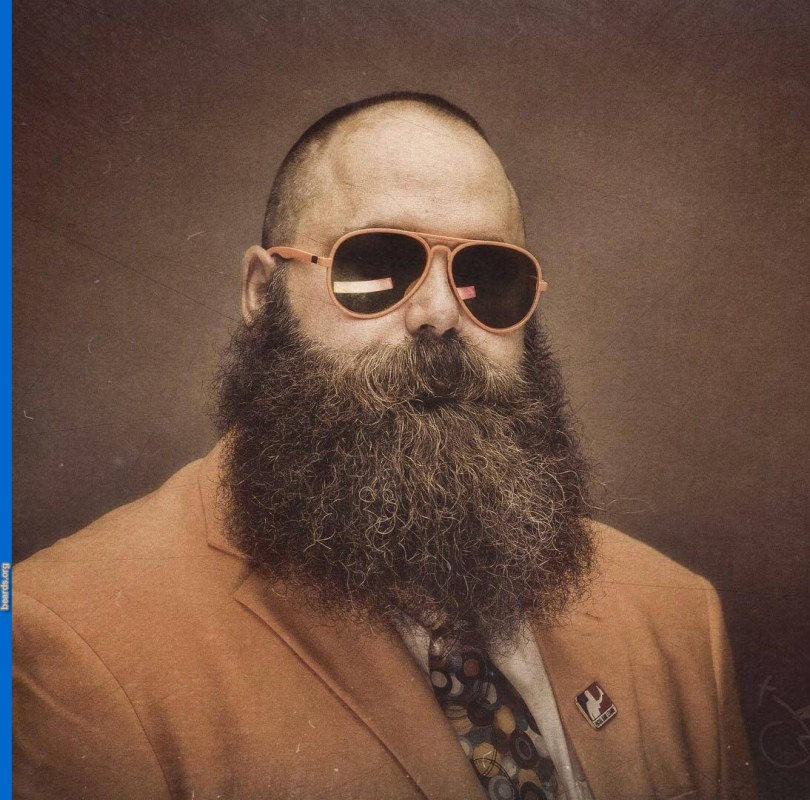 Doug's mighty beard, photo 4