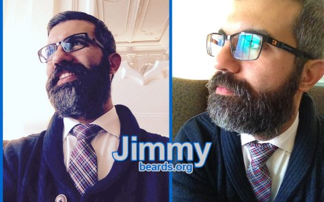 Jimmy's excellent, strong beard photo 2