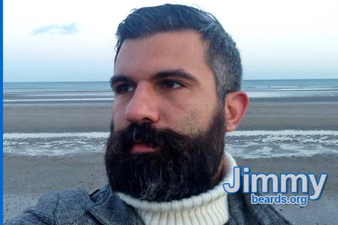 Jimmy's excellent, strong beard photo 3