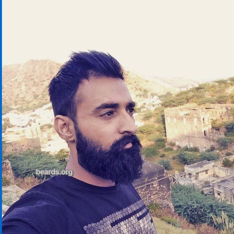 Rahul, beard photo 1