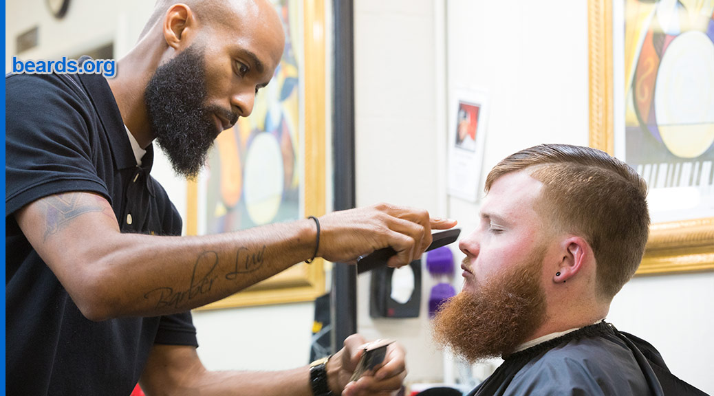 Virgil, bearded barber featured image