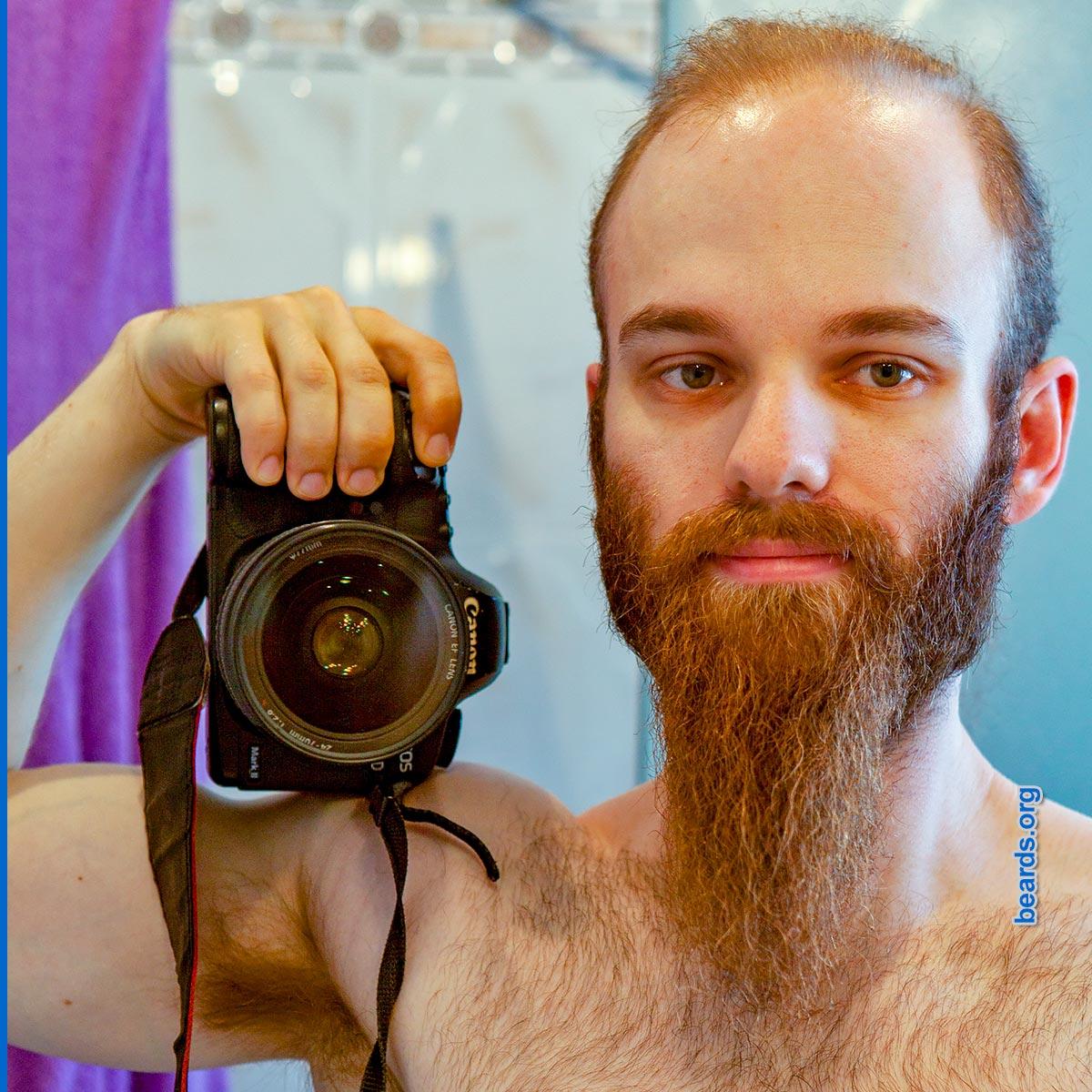 Michael's beard in 2016