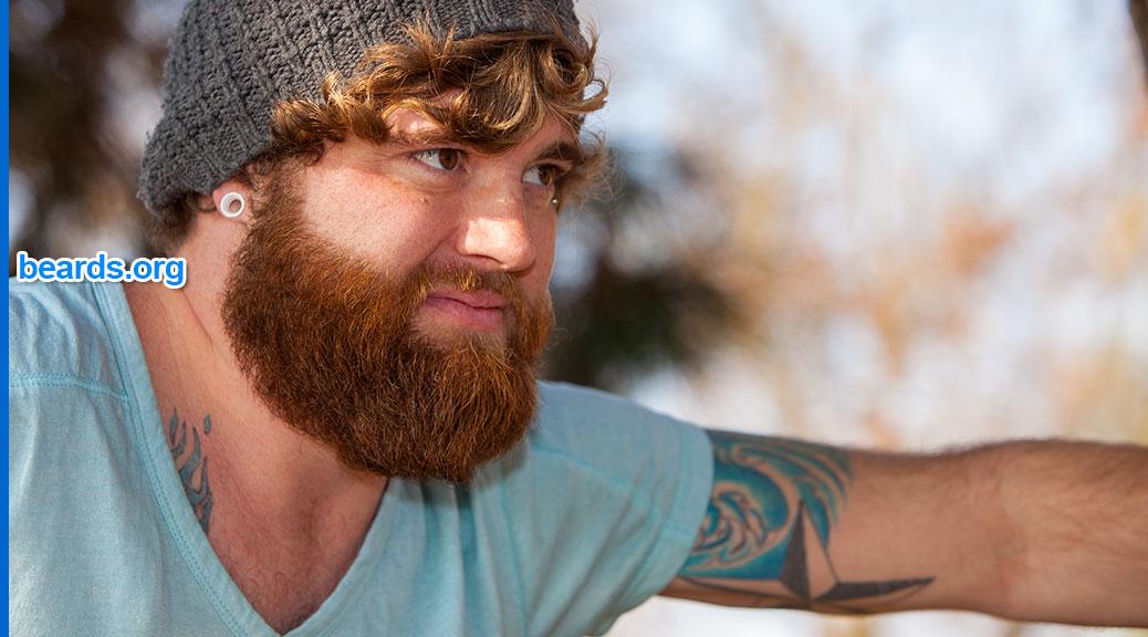 Anthony's beard photo shoot, featured image